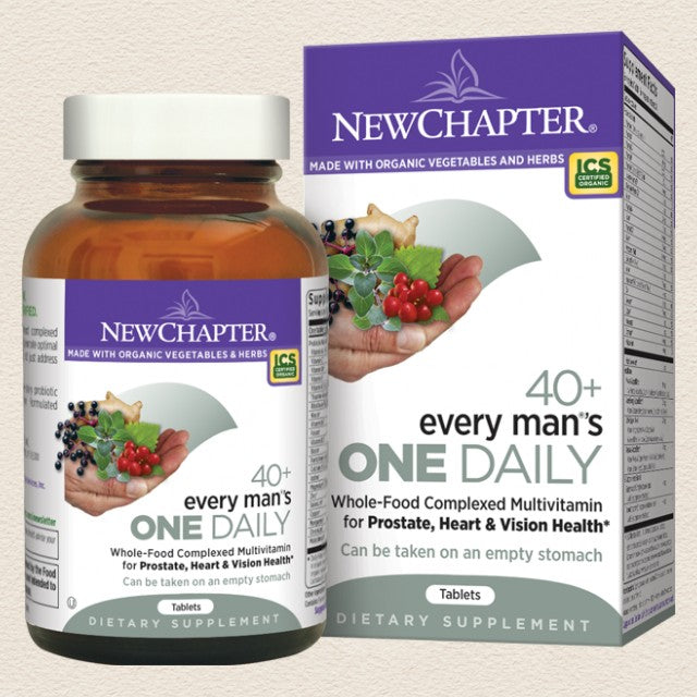 New Chapter Every Man®'s One Daily 40+