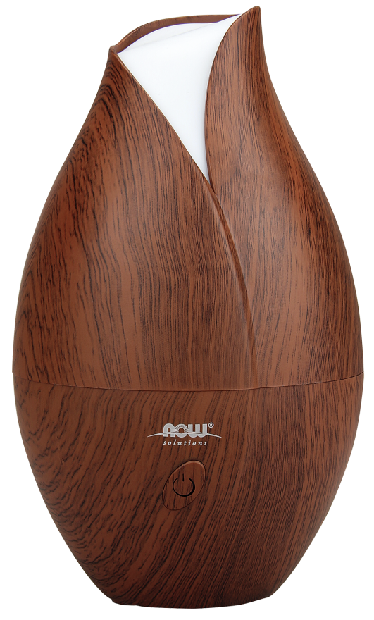 NOW Ultrasonic Faux Wood Essential Oil Diffuser