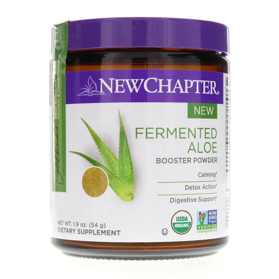 New Chapter Fermented Aloe Booster Powder
