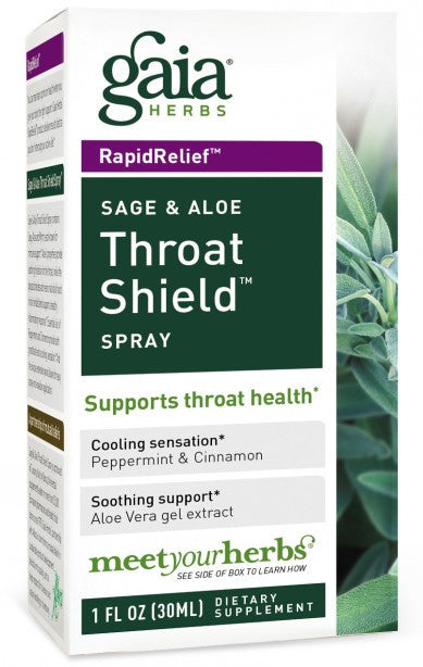 Gaia Herbs Throat Shield Spray