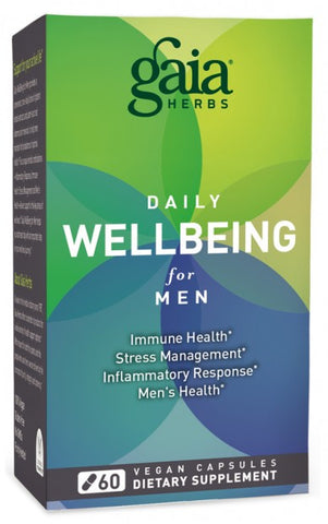 Gaia Herbs Wellbeing for Men