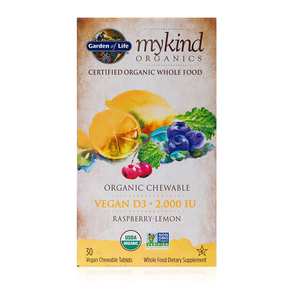 Garden of Life mykind Organics Chewable Vegan D3