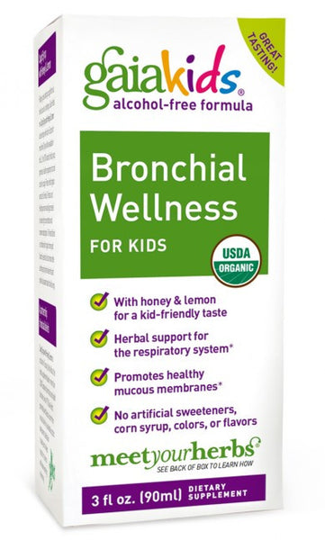 Gaia Kids Bronchial Wellness