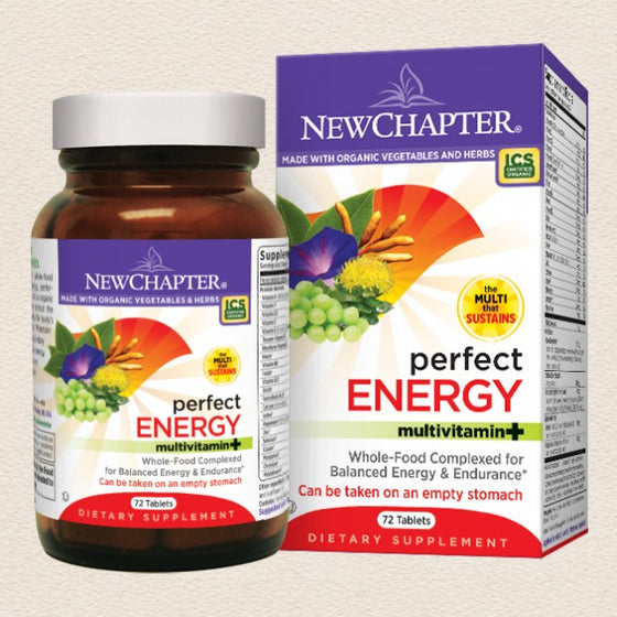 New Chapter Perfect Energy 72 Tablets