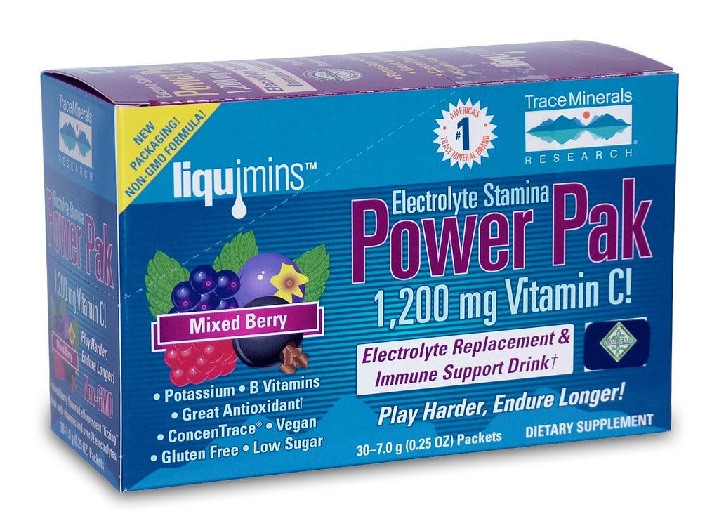 Trace Minerals Power Pak Mixed Berry
