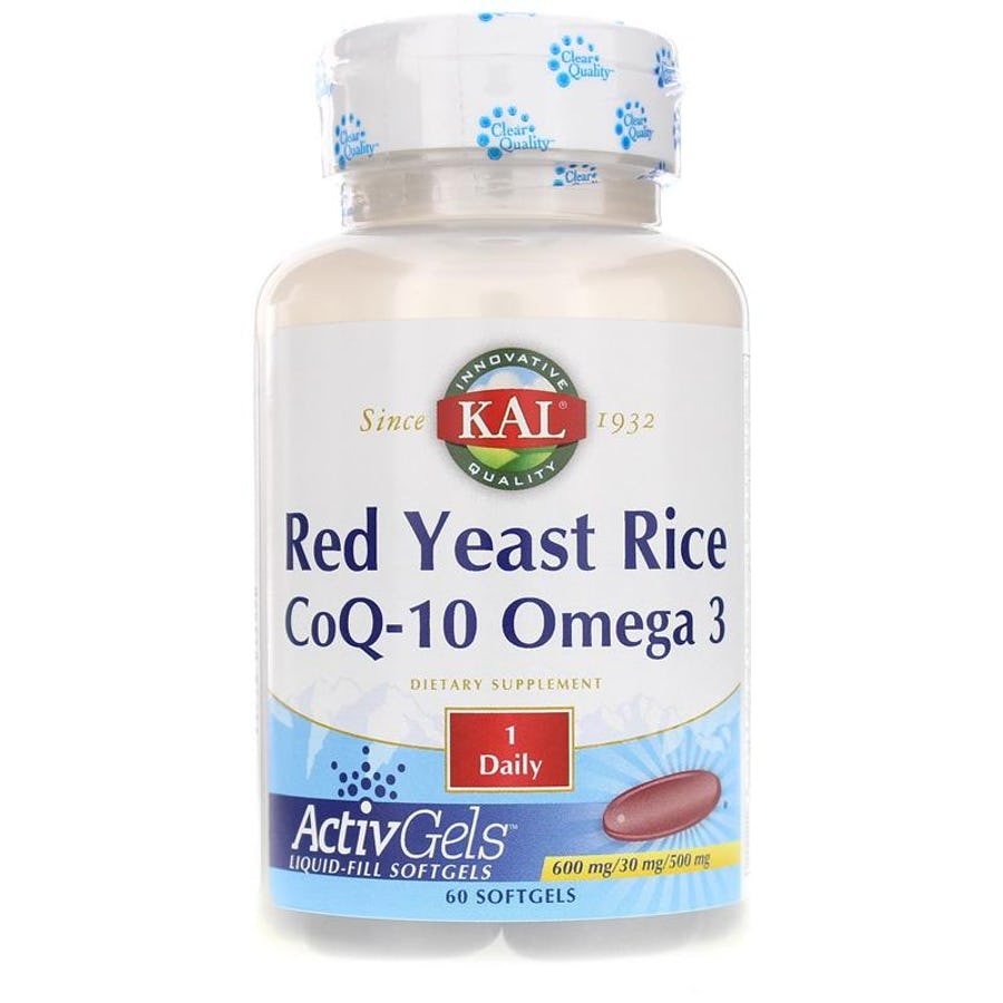 Kal Red Yeast Rice CoQ-10 Omega 3