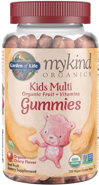mykind Organics Kids Multi Gummy Cherry