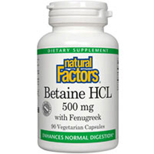 Natural Factors Betaine Hydrochloride