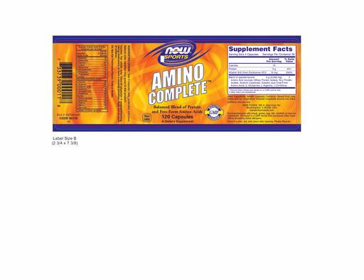 NOW Foods Amino Complete 120 count