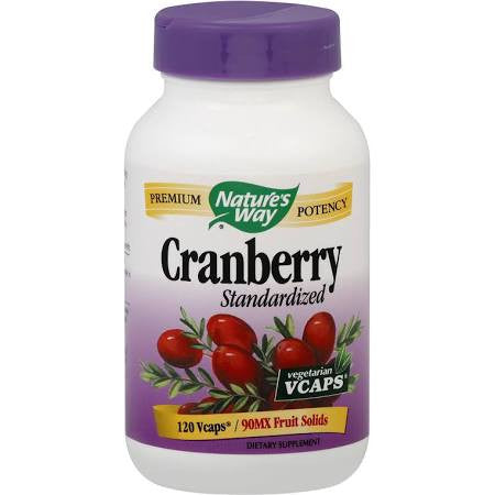 Nature's Way Standardized Cranberry