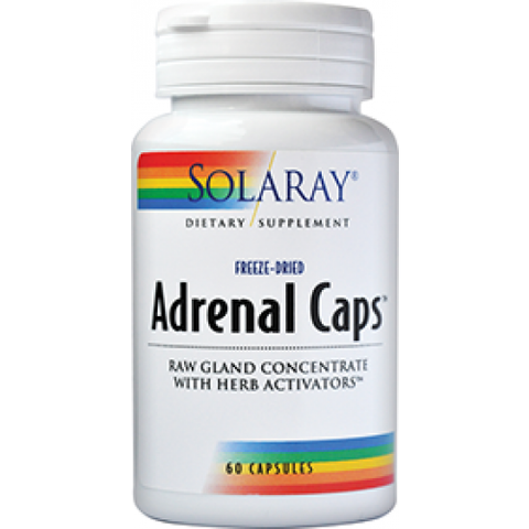 Solaray Adrenal Caps