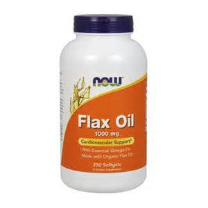 Now Foods Flax Oil 1000 mg