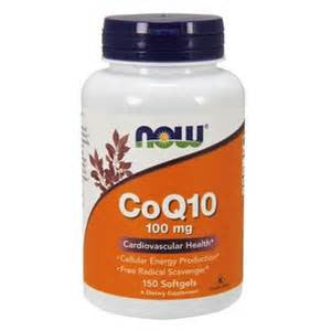 Now Foods CoQ10 100mg 150 Softgels