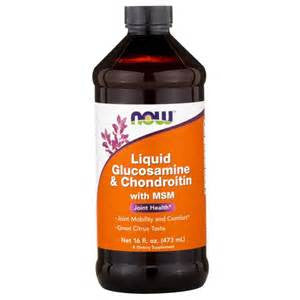 Now Foods Liquid Glucosamin & Chondroitin with MSM