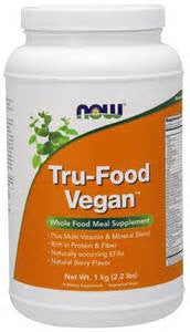 Now Foods Tru-Food Vegan™Berry Flavor