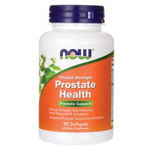 Now Foods Prostate Health Clinical Strength Softgels