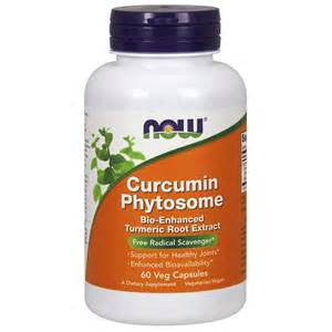 Now Curcumin Phytosome with Meriva 60 count