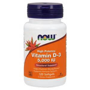 Now Foods Vitamin D-3 5,000 IU