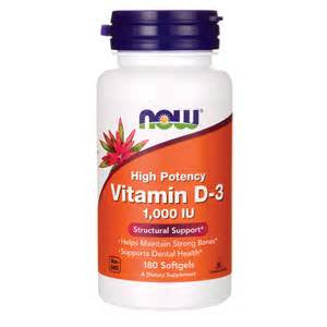 Now Food Vitamin D-3 1,000 IU