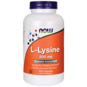 Now Foods L-Lysine