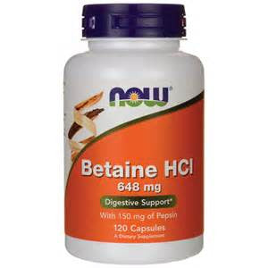 Now Foods Betaine HCI