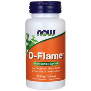 Now Foods D-Flame™ - 90 Veg Caps
