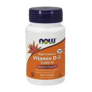 Now Foods Vitamin D-3 2,000 IU