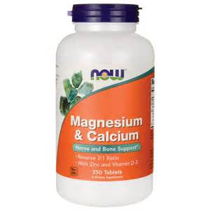 Now Foods Magnesium & Calcium