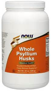 Now Psyllium Husk Capsules or Powder