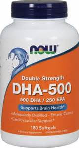 Now Foods DHA-500 Double Strength - 90 Softgels