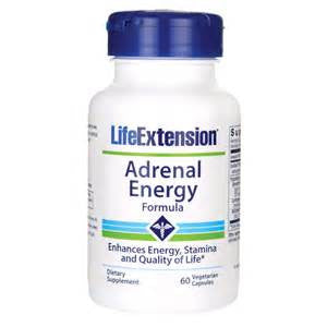 Life Extension Adrenal Energy Formula