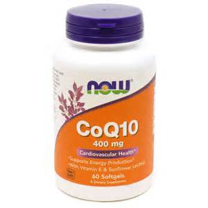Now Foods CoQ10 400 mg - 30 Softgels