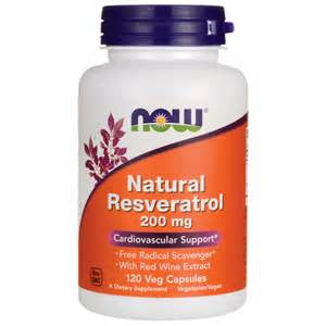 Now Foods Resveratrol 200mg