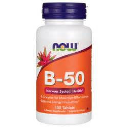 Now Foods Vitamin B-50