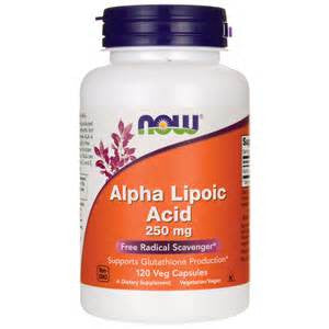 Now Foods Alpha Lipoic Acid 250mg