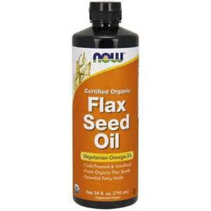 Now Foods Flax Seed Oil