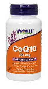 Now Foods CoQ10 30 mg Vegetarian - 120 Vcaps®