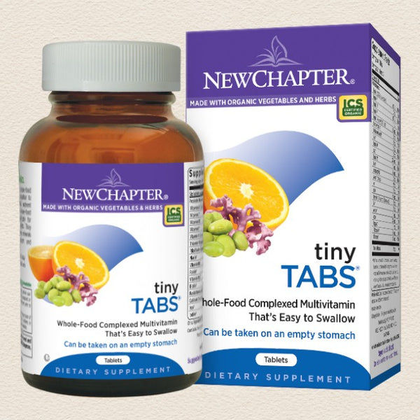 New Chapter Tiny Tabs®