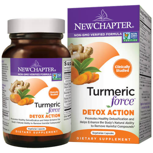 New Chapter Turmeric Force Detox