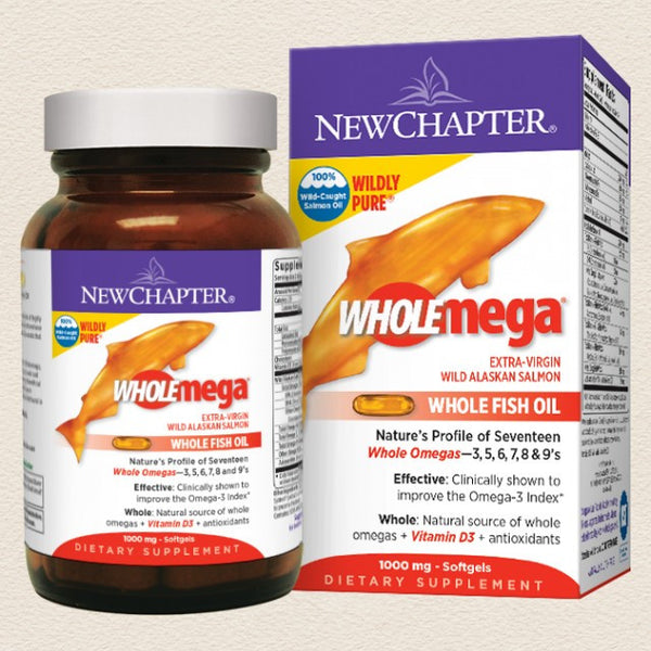 New Chapter Wholemega® Whole Fish Oil