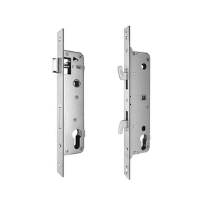 Super Slim Fingerprint Aluminum Glass Door Lock