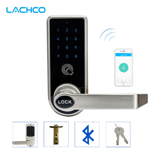 Electronic Interior Door Lock works with APP Control, Keypad, Bluetooth Smart Phone