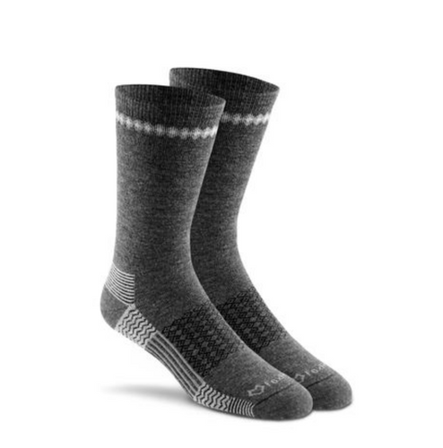 Carbon Crew Medium Weight Merino Wool Sock From Fox River