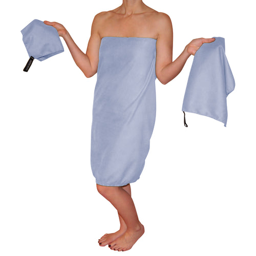 Country Bound Microfiber Towel Set - Fast Drying - Super Absorbent & Compact