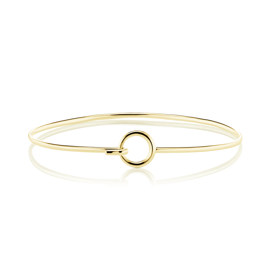 The Gold Hooked Loop Bracelet