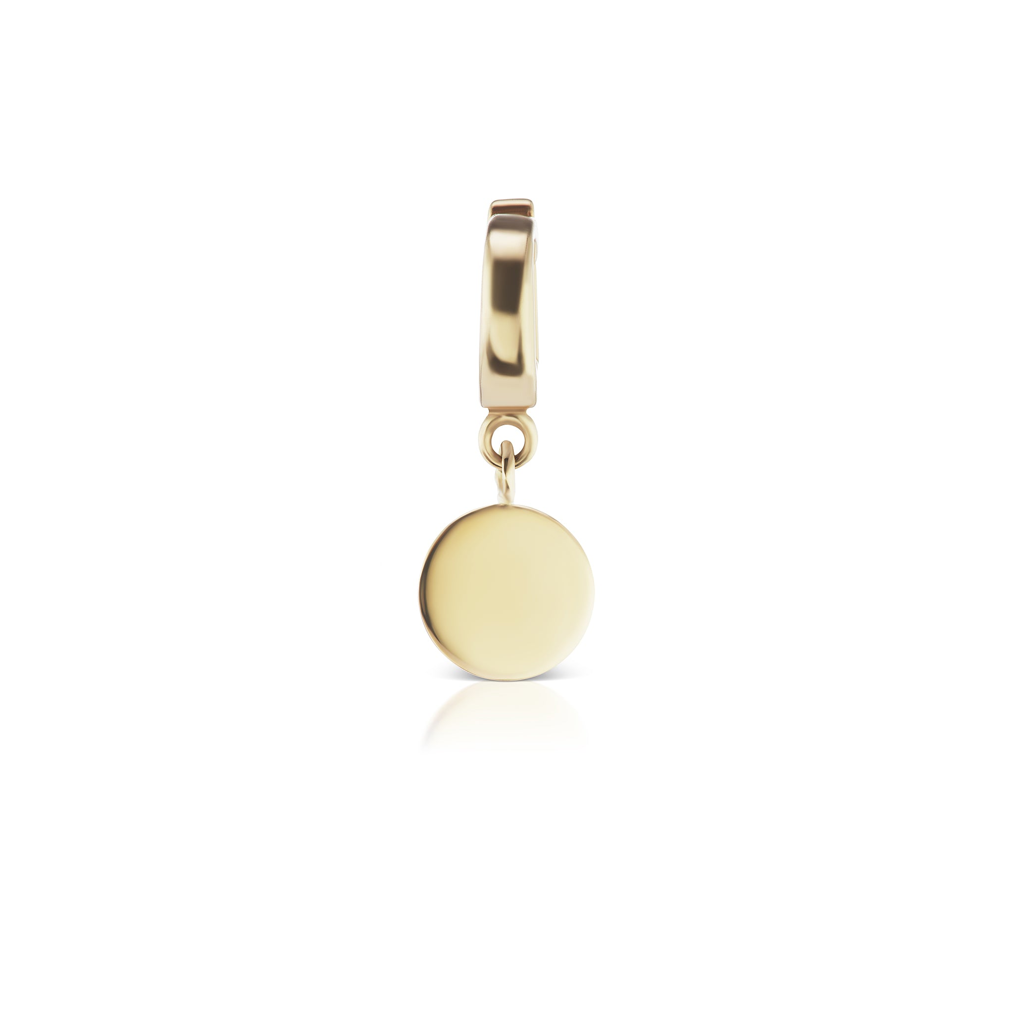 The Gold Petite Signature Charm