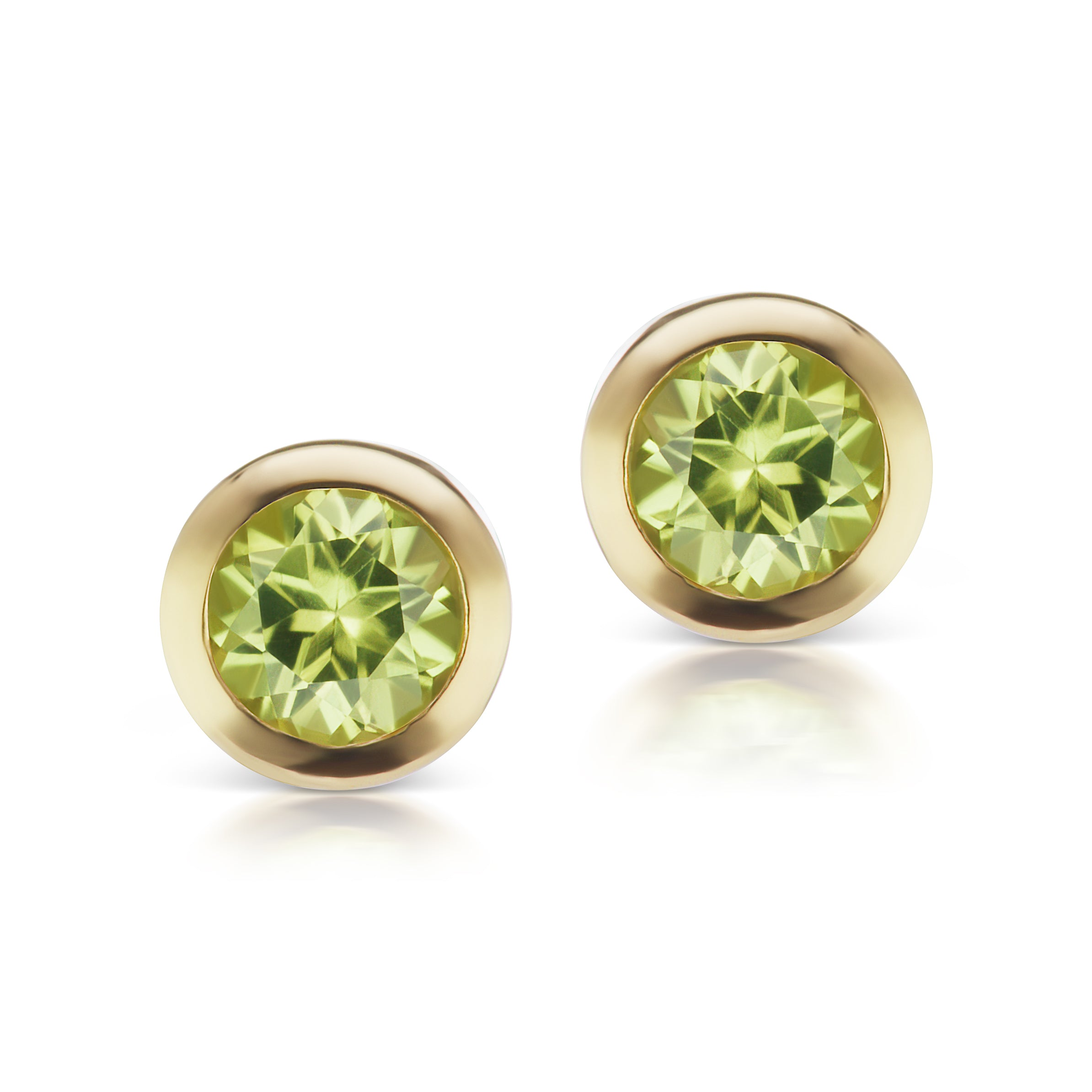 The Gold Birthstone Confetti Studs