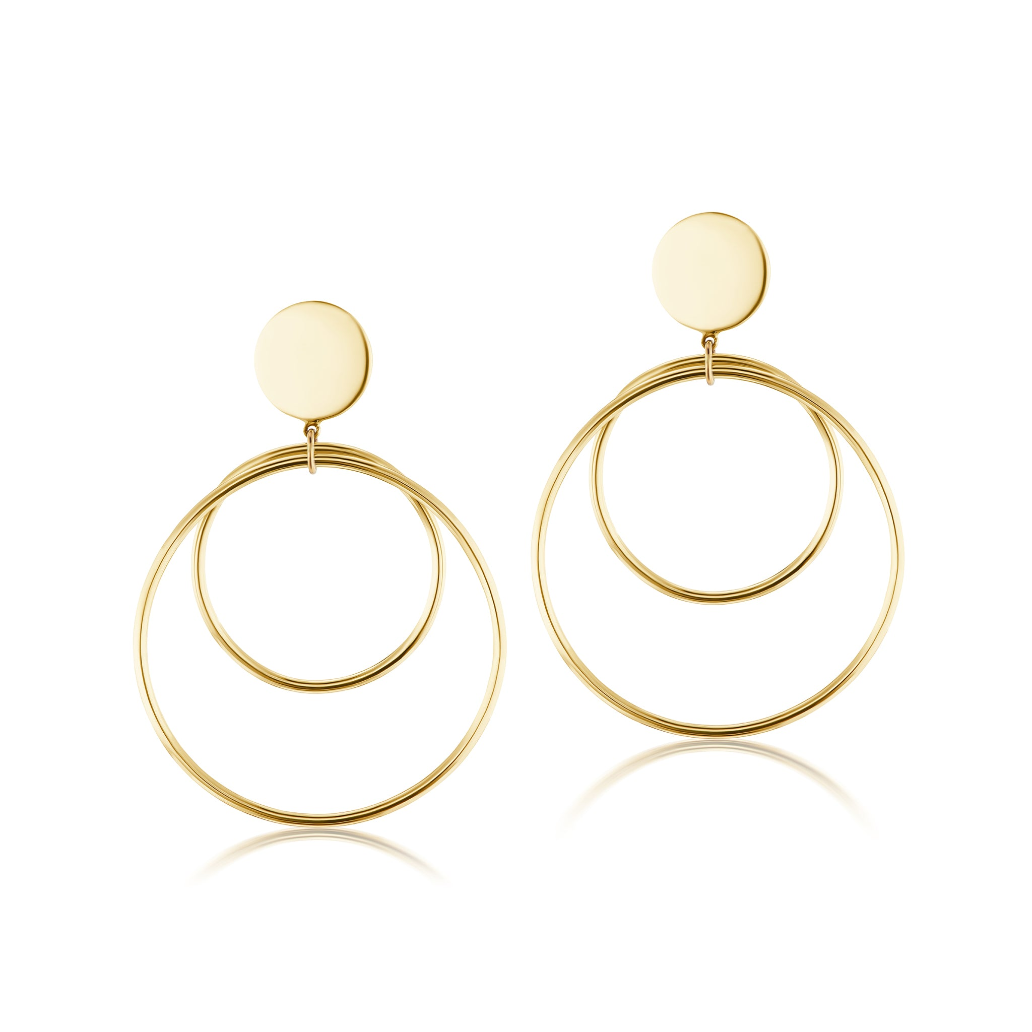 The Gold Sunrise Earring