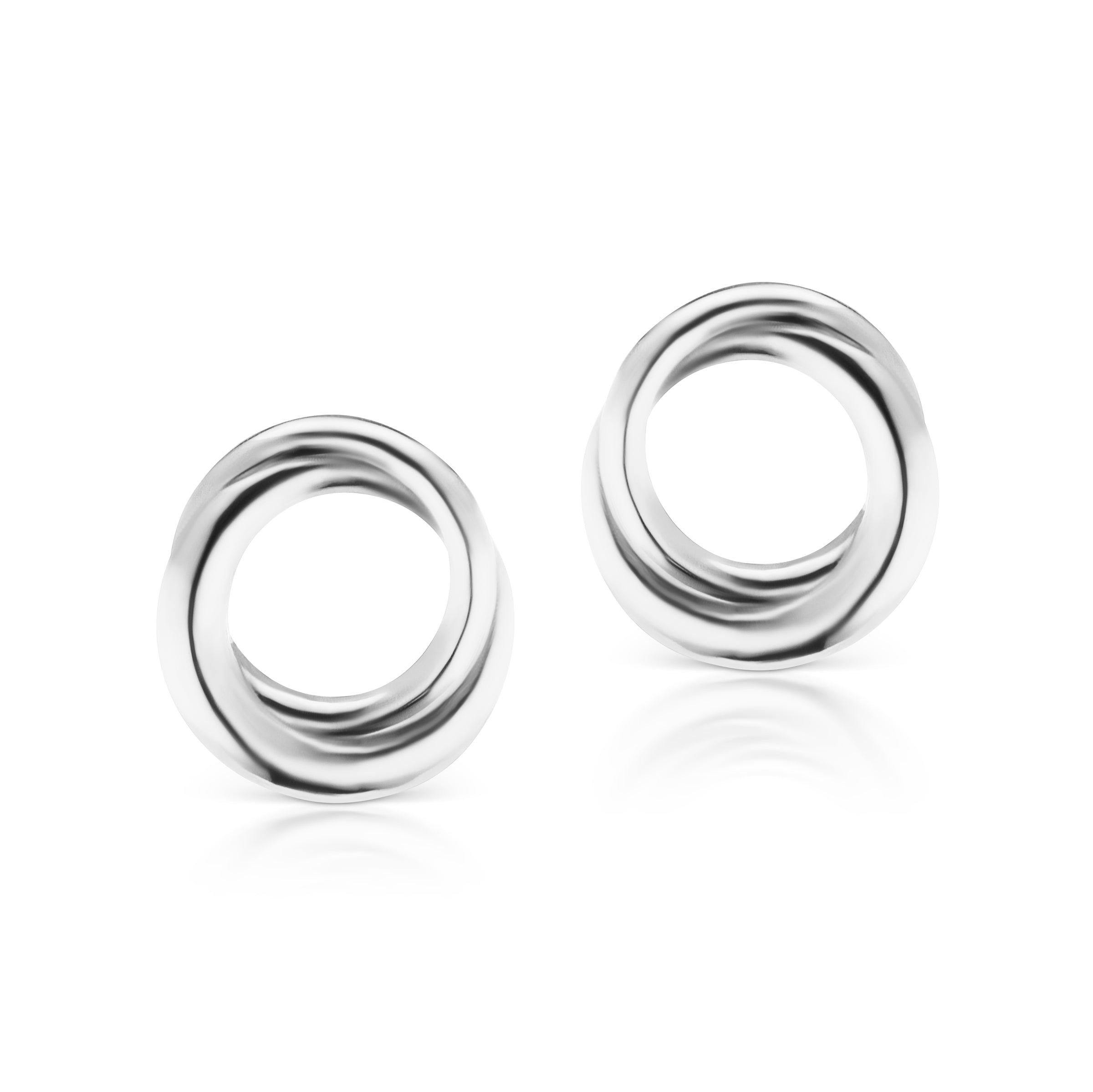 The Silver Encircle Studs