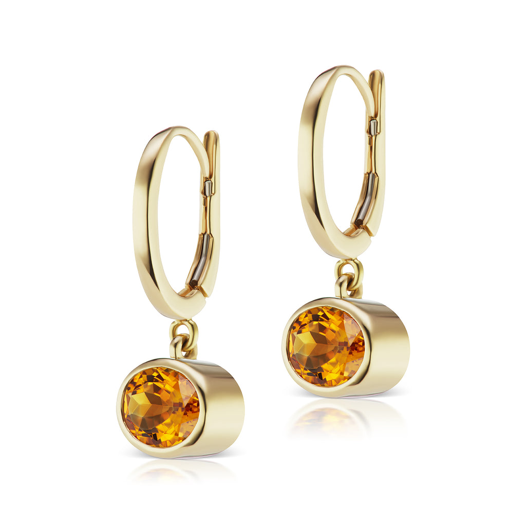 The Citrine Janet Bell Earrings